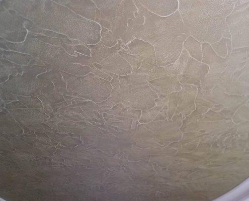 Malerei Reiter - Relief-Spachtel