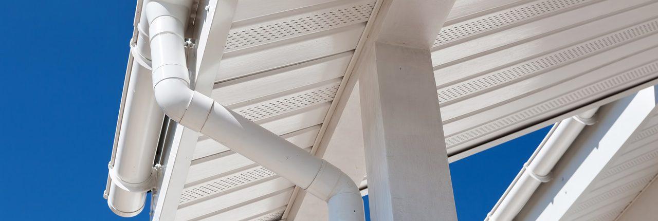Dachuntersicht, streichen, Holz, Mühlviertel