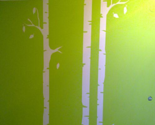 Malerei Reiter - Wandgestaltung