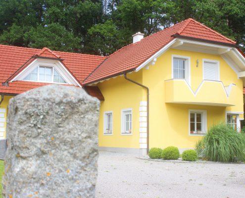 Malerei Reiter, Fassade, Rohrbach