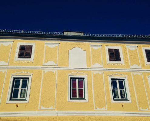 Malerei Reiter - Fassade