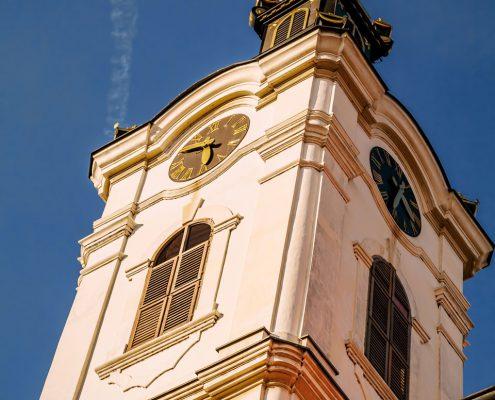 Malerei Reiter - Kirche